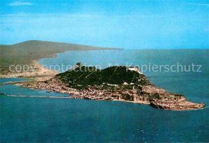 AK / Ansichtskarte Gibraltar South West aerial view of Rock Kat. Gibraltar