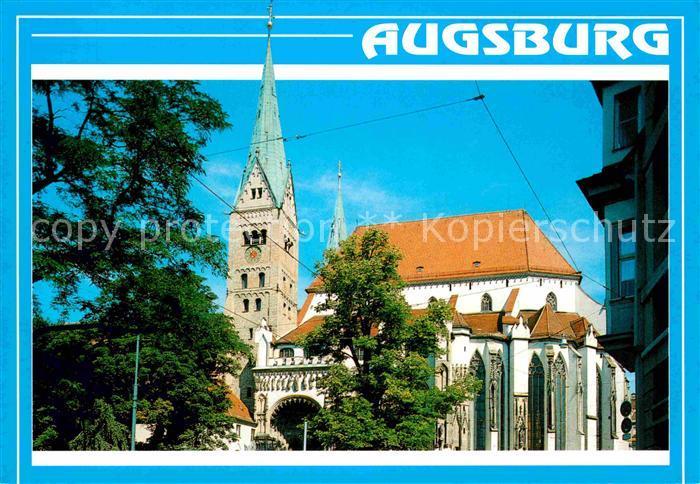 AK / Ansichtskarte Augsburg 2000 Jahre Dom St. Maria Kat. Augsburg