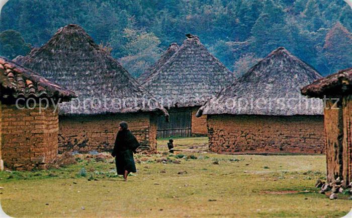AK / Ansichtskarte Chiapas Mexico Tenejapa pueblo de los Altos de Chiapas