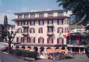 AK / Ansichtskarte Weggis LU Hotel Roessli Weggis Kat. Weggis