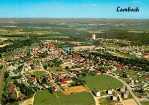AK / Ansichtskarte Lambach Oberoesterreich Luftaufnahme Kat. Lambach