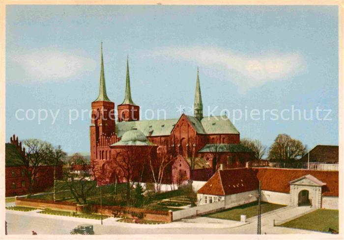 AK / Ansichtskarte Roskilde Domkirche Kat. Roskilde