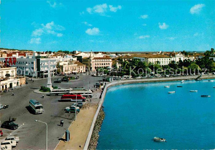 AK / Ansichtskarte Faro Faro Vista parcial do centro da cidade Kat. Faro