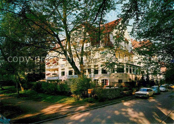 AK / Ansichtskarte Bad Pyrmont Haus Rubin Kat. Bad Pyrmont