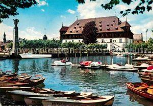 AK / Ansichtskarte Konstanz Bodensee Gondelhafen und Konzil Kat. Konstanz