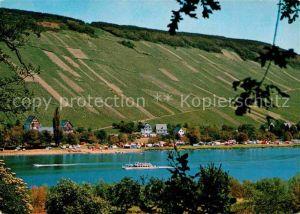 AK / Ansichtskarte Traben Trarbach Campingplatz Rissbach an der Mosel Cornely Karte Nr 11542 Kat. Traben Trarbach