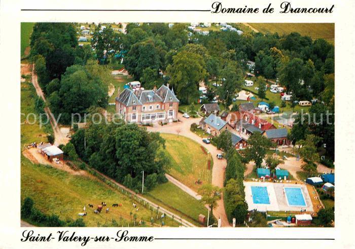 AK / Ansichtskarte Saint Valery sur Somme Chateau de Drancourt Castels Camping Caravaning Kat. Saint Valery sur Somme