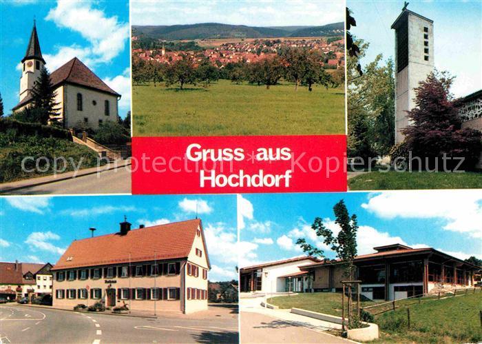 Hochdorf Plochingen Kirchen Gasthaus Gesamtansicht Kat. Hochdorf