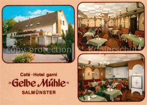 AK / Ansichtskarte Salmuenster Bad Soden Cafe Hotel Garni Gelbe Muehle Kat. Bad Soden am Taunus