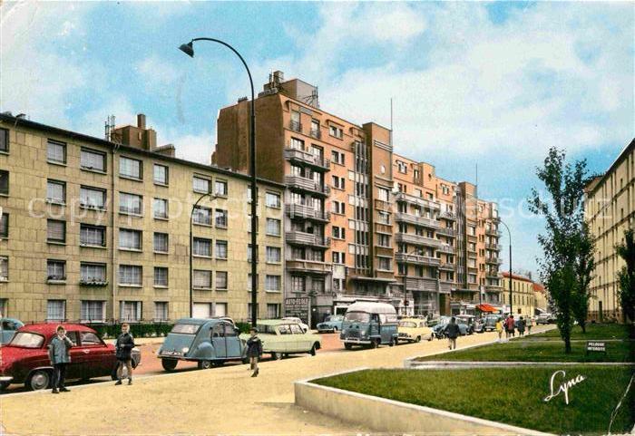 AK / Ansichtskarte Colombes Rue Paull Bert Kat. Colombes