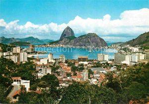 AK / Ansichtskarte Rio de Janeiro Panorama Zuckerhut Kat. Rio de Janeiro