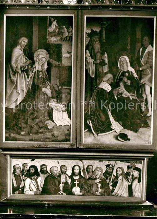AK / Ansichtskarte Adelberg Kloster Ulrichskapelle Hochaltar Kat. Adelberg