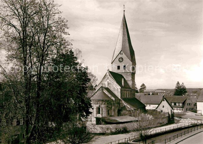 AK / Ansichtskarte Faurndau Evangelische Kirche Kat. Goeppingen