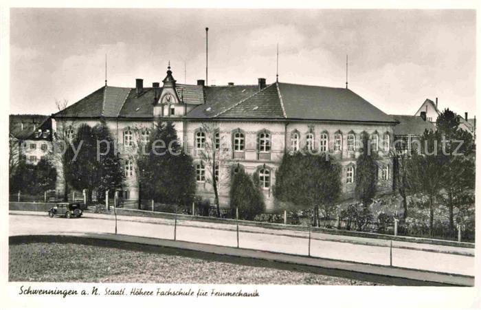 AK / Ansichtskarte Schwenningen Neckar Hoehere Fachschule Feinmechanik Kat. Villingen Schwenningen