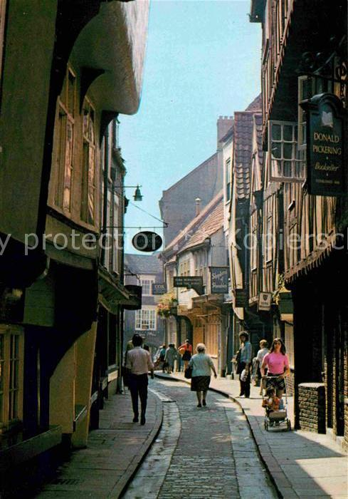 AK / Ansichtskarte York UK The Shambles Kat. York