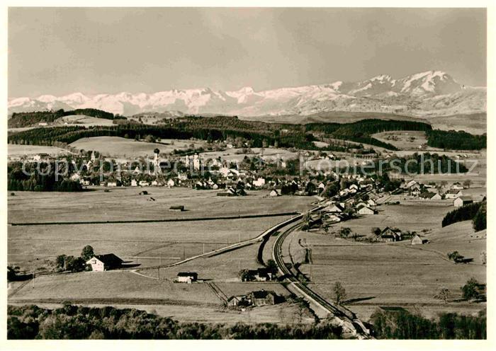 AK / Ansichtskarte Isny Allgaeu Panorama  Kat. Isny im Allgaeu