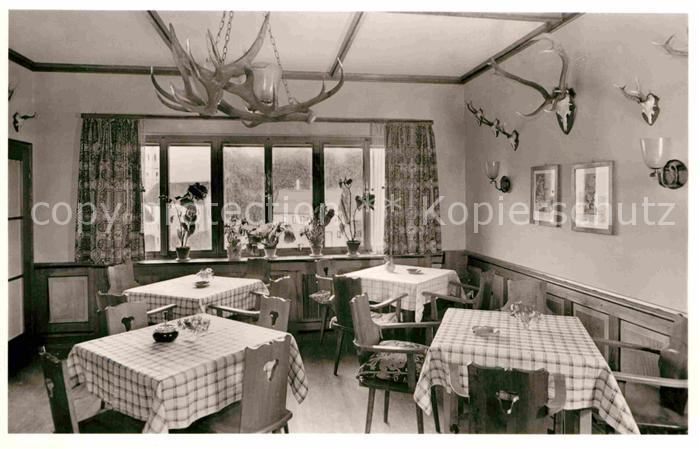 AK / Ansichtskarte Mitteltal Schwarzwald Kurhotel Speisesaal Kat. Baiersbronn