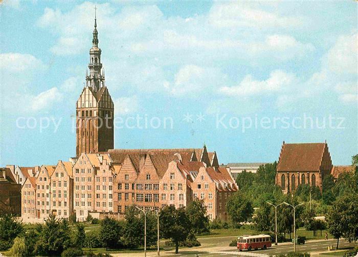 AK / Ansichtskarte Elblag Kirchenpartie  Kat. Elblag