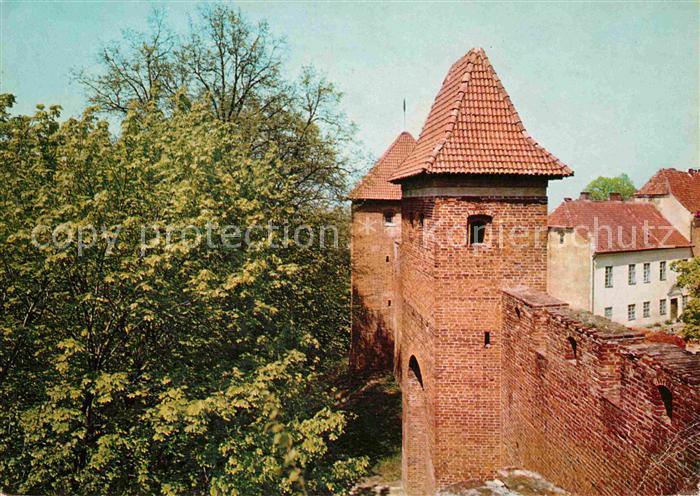 AK / Ansichtskarte Frombork Stadtmauer Kat. Frauenburg Ostpreussen
