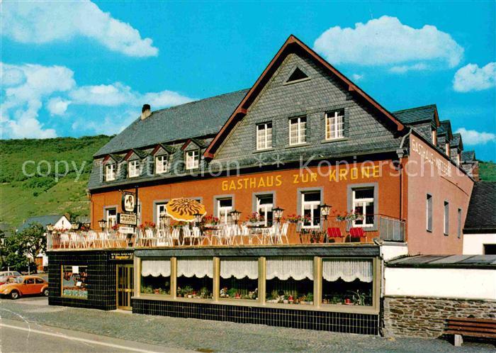 AK / Ansichtskarte Oberfell Gasthaus zur Krone Kat. Oberfell Mosel