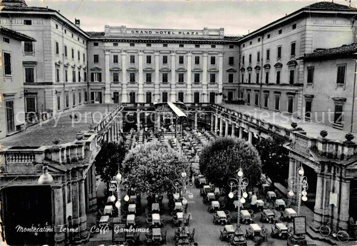 Ak Ansichtskarte Montecatini Terme Coffee House Gambrinus Grand Hotel Plaza Kat Italien Nr Kb32581 Oldthing Ansichtskarten Italien Unsortiert