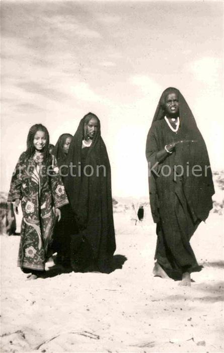 AK / Ansichtskarte Typen Afrika Chirfa Djado Groupe de Femmes
