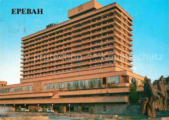 AK / Ansichtskarte Jerewan Hotel Dwin