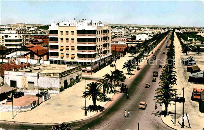 AK / Ansichtskarte Tunis Avenue Mohammed V Kat. Tunis