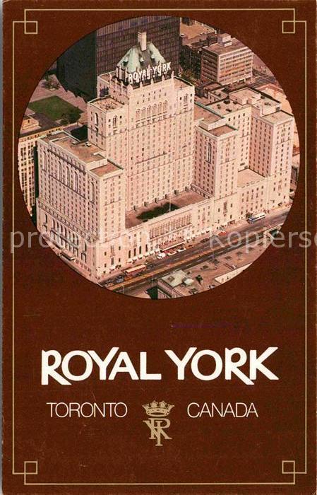 AK / Ansichtskarte Toronto Canada Royal York Kat. Ontario