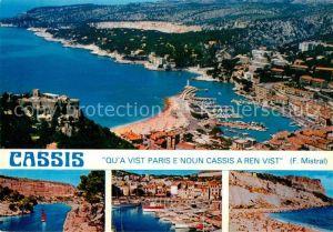 AK / Ansichtskarte Cassis La calanque de Port Miou Plage Cap Canaille Kat. Cassis