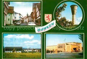 AK / Ansichtskarte Borken Hessen Teilansichten Wasserturm Kat. Borken (Hessen)