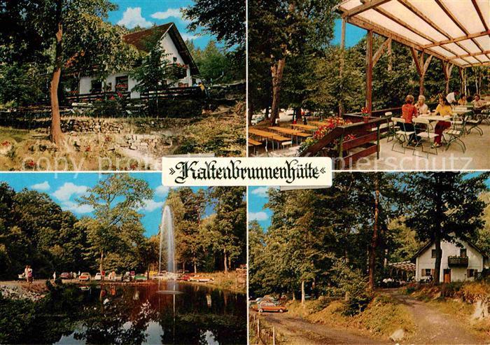 Ak Ansichtskarte Neustadt Weinstrasse Kaltenbrunnenhuette
