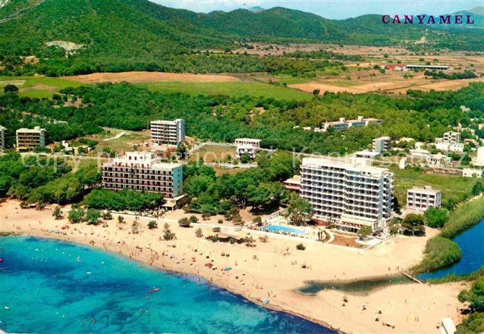 AK / Ansichtskarte Canyamel Hotels am Strand Fliegeraufnahme Kat. Mallorca