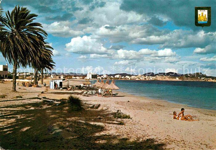 AK / Ansichtskarte Ibiza Islas Baleares Playa de las Palmeras Kat. Ibiza
