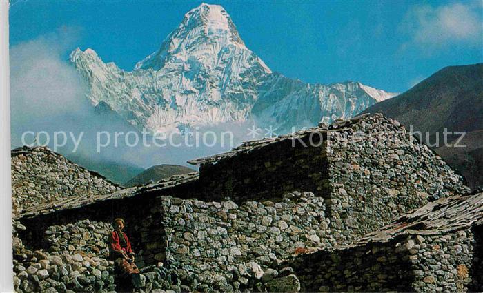 AK / Ansichtskarte Nepal Ama Dablam Kat. Nepal