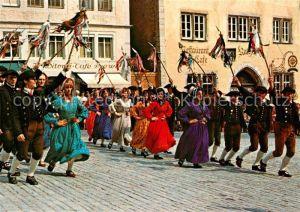 AK / Ansichtskarte Rothenburg Tauber Historische Festspiele Schaefertanz Kat. Rothenburg ob der Tauber