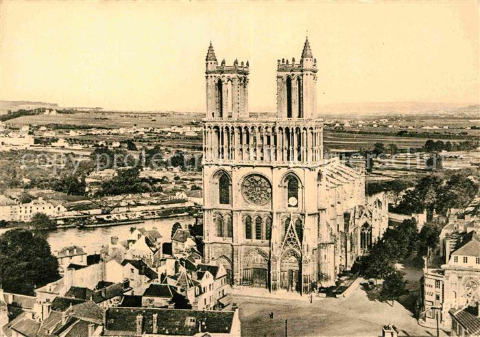 AK / Ansichtskarte Mantes la Jolie Egliese Notre Dame Kat. Mantes la Jolie