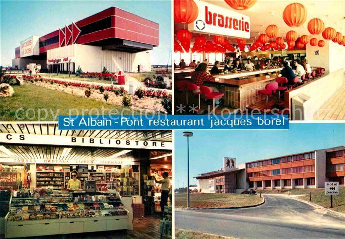 AK / Ansichtskarte Saint Albain Pont Restaurant Jacques borel Kat. Saint Albain