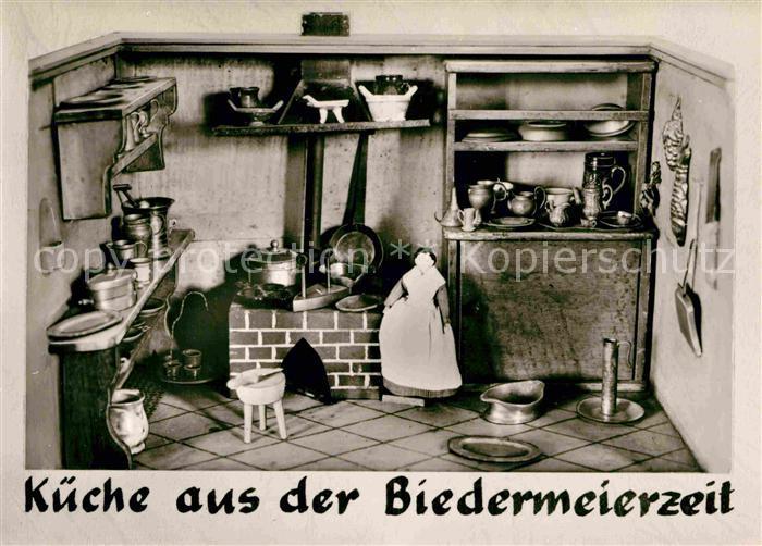 AK / Ansichtskarte Bodman Bodensee Kueche aus der Biedermeierzeit Schloss Frauenberg