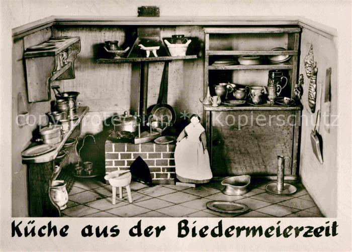 AK / Ansichtskarte Bodman Bodensee Schloss Frauenberg Sammlung alter Puppenkuechen und Puppenstuben Kueche aus der Biedermeierzeit