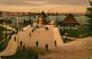 AK / Ansichtskarte Brunsbuettelkoog Am Kaiser Wilhelm Kanal  Kat. Brunsbuettel