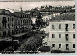 AK / Ansichtskarte Conegliano Panorama col Castello di Giano Kat. Conegliano