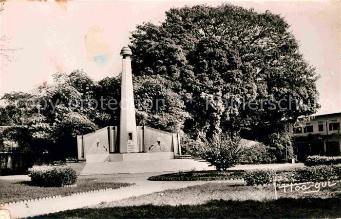 AK / Ansichtskarte Conakry Monument aux Morts Kriegerdenkmal Kat. Conakry