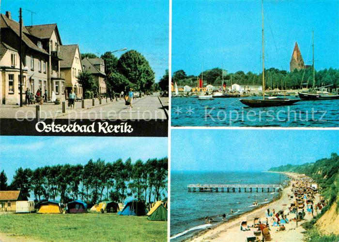 AK / Ansichtskarte Rerik Ostseebad Hafen Zeltplatz Strand Kat. Ostseebad Rerik
