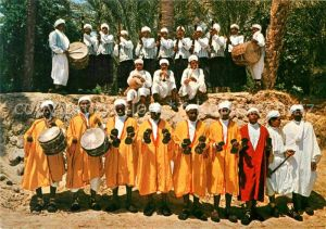AK / Ansichtskarte Nefta Folklorengruppe Kat. Tunesien