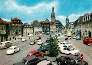AK / Ansichtskarte Lichtenfels Bayern Marktplatz Kat. Lichtenfels