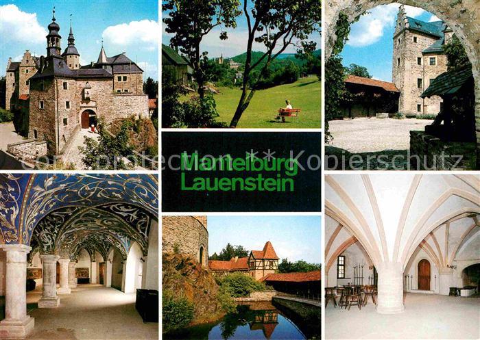 AK / Ansichtskarte Lauenstein Oberfranken Ludwigsstadt Mantelburg  Kat. Ludwigsstadt