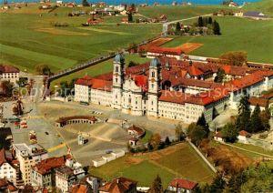 AK / Ansichtskarte Einsiedeln SZ Kloster Blick vom St. Meinradsberg Kat. Einsiedeln