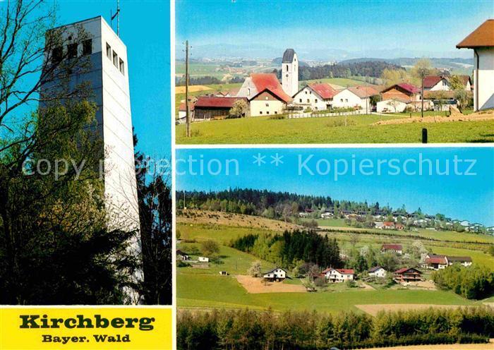 AK / Ansichtskarte Regen Kirchberg Aussichtsturm Panorama Kat. Regen