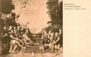 AK / Ansichtskarte Kuenstlerkarte F. Francia Sepoltura si S. Cecilia  Kat. Kuenstlerkarte